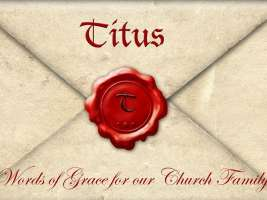 Titus: Words of Grace